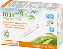 Organic Applicator Tampons Super Plus