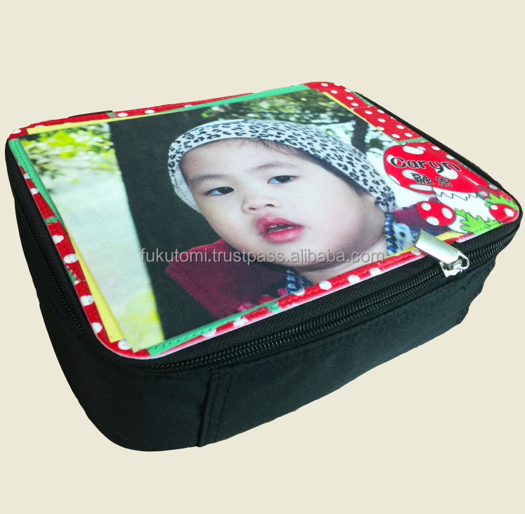 DIY Customized Sublimation Blank Canvas Insulated Lunch Box Thermal Warmer Bag