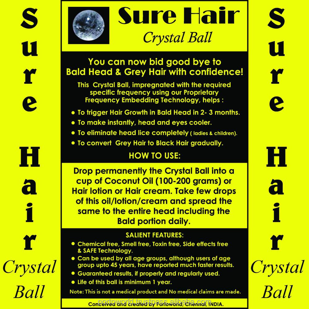 BALD HEAD HAIR GROWTH CRYSTAL BALL