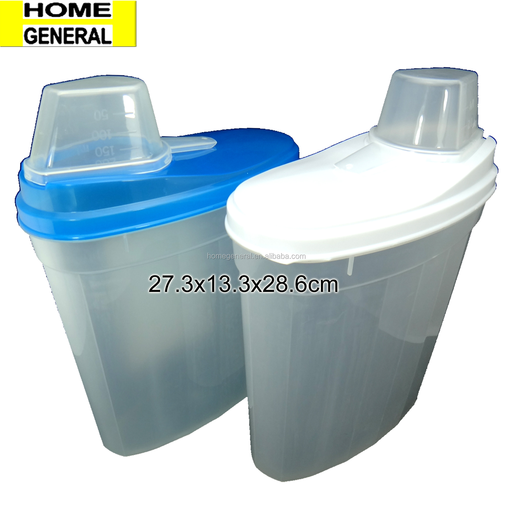 STORAGE GENERAL PLASTIC STORAGE CONTAINER WITH LID