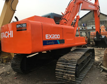 Japan Made Excavator Hitachi EX200-1 EX200-2 EX60 Used Crawler Excavator Low Price for Sale