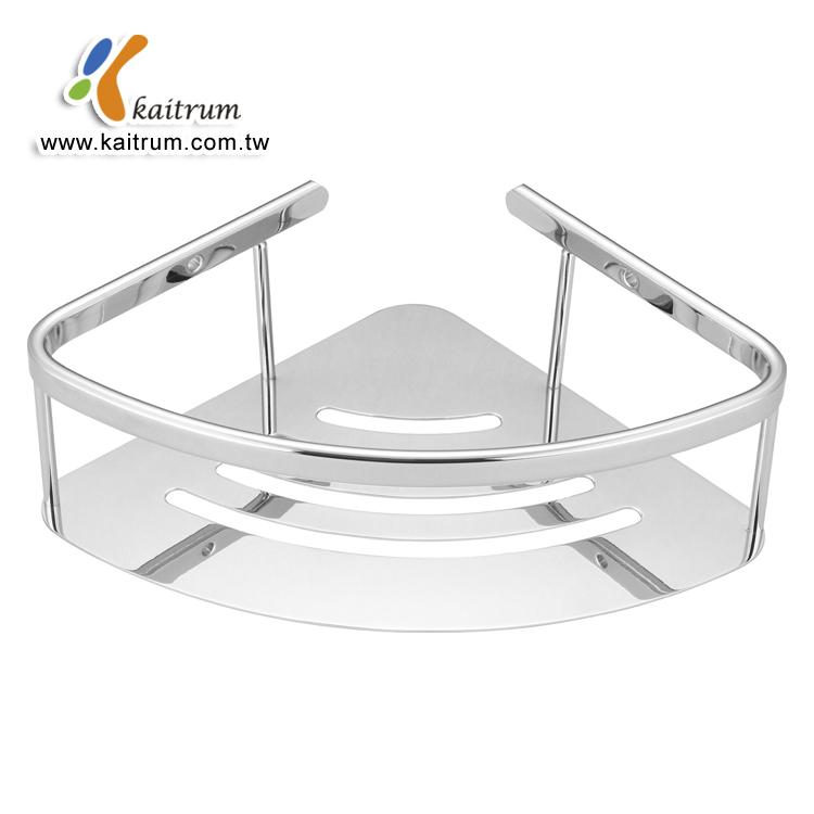 Wall Mounted Soap Dish Holder Bathroom Bath Shower Stainless Steel Basket Jian