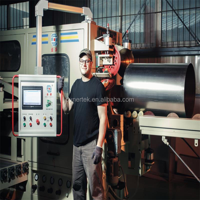 Steel Drum Production manufactures drum body line for steel drum manufacturers