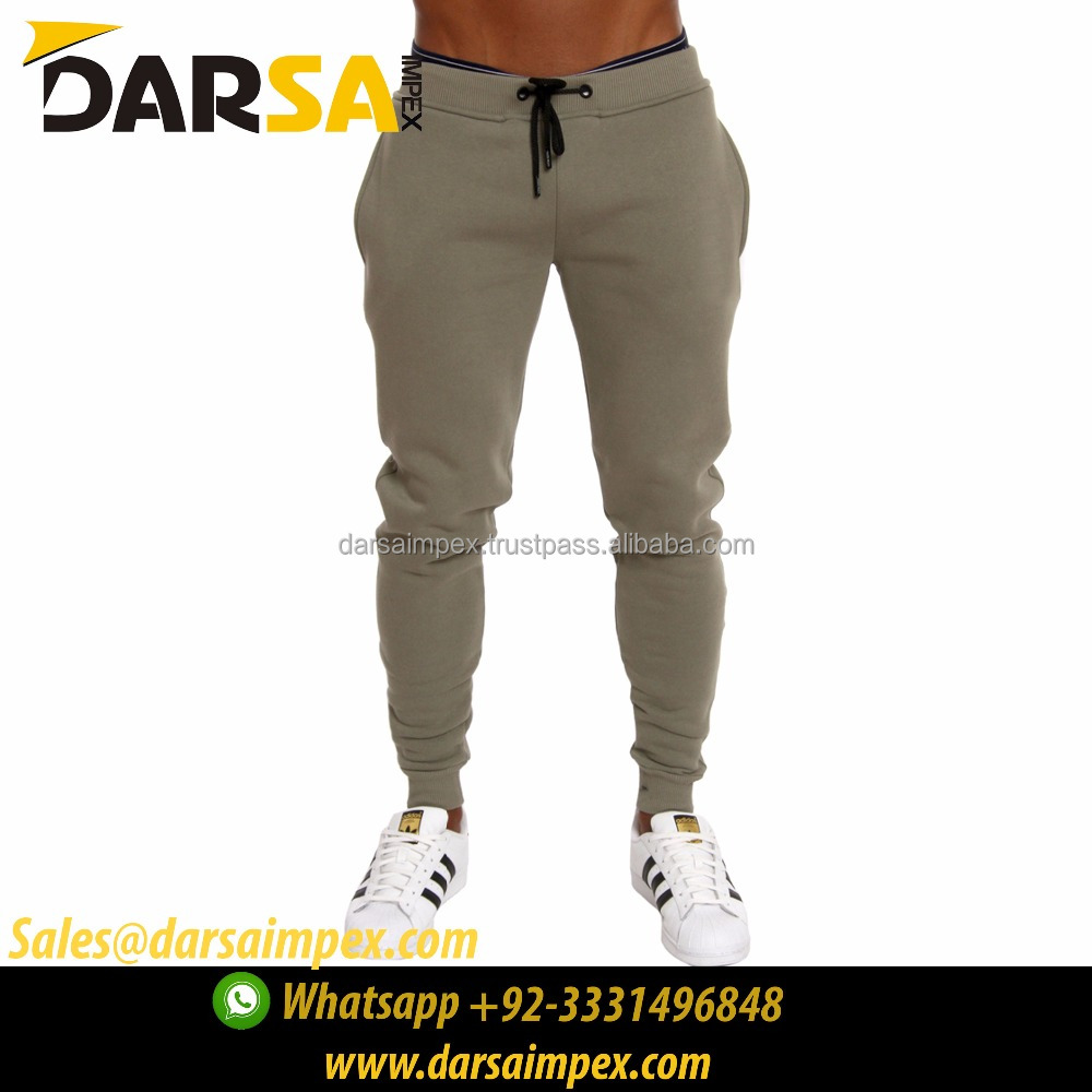 Best Seller 100% Cotton Casual Long Trousers Wholesale Men Jogger Sweatpants Blank
