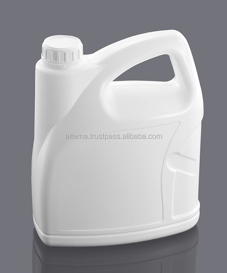 5 liter plastic jerry can HDPE bottle for motor oil lubricants
