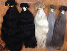 Wholesale Hair Extensions I-Tip - U-Tip, Flat Keratin In Remy Hair at Factory price