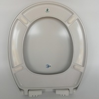 Toilet Closet Seat with Spring Shock Absorber Damper
