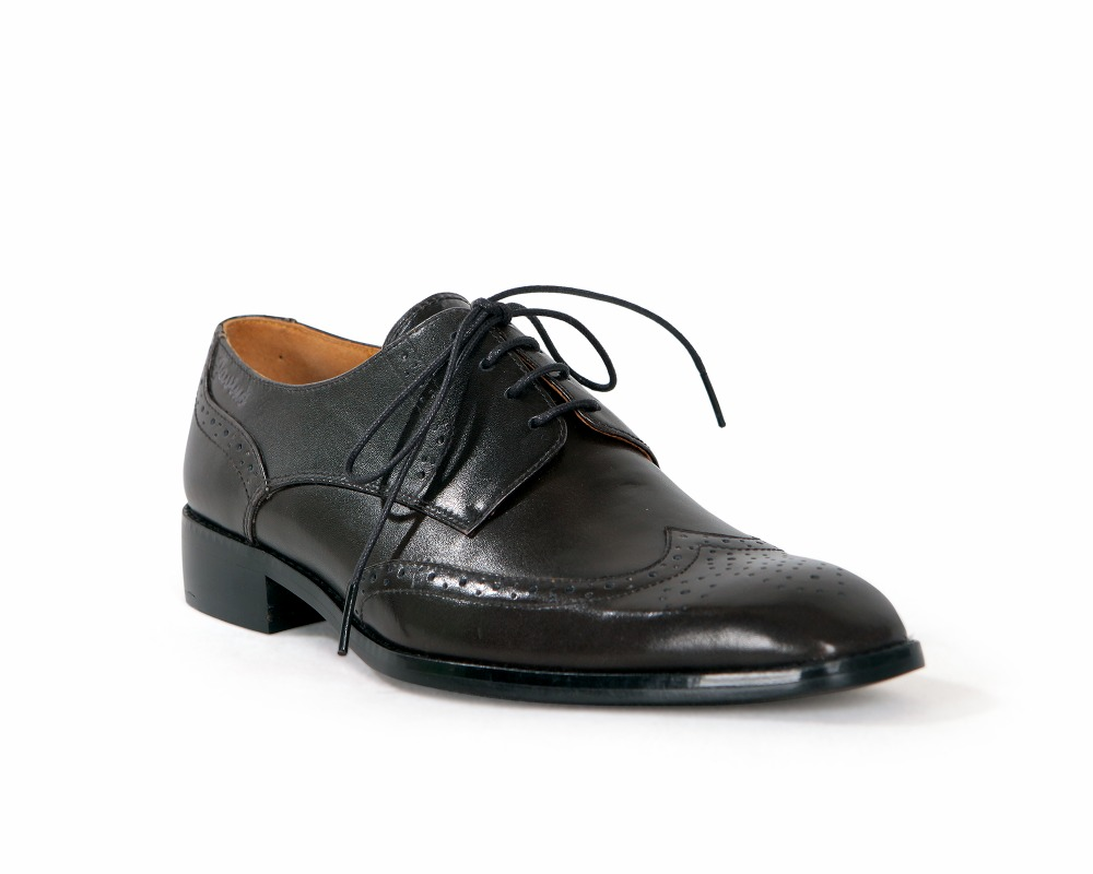 Vietnam Men's LEATHER handmade derby shoes