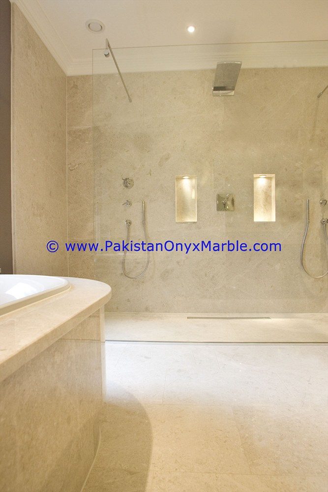 Factory sale marble shower tray handcarved natural stone bathroom decor Teakwood Burmateak marble shower trays
