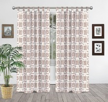 Indian Hand Block Printed Curtains 100% Cotton Home Decor Window Curtains Balcony Tapestry