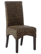Seagrass Dining Chair, Water Hyacinth Dining Chair Indonesia Furniture Manufacturer Wholeseller Exporter