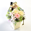 Japanese Factory Supply Preserved Flower Rose In The Vase As Gift