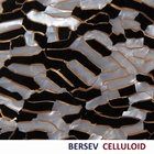 Bersev Celluloid Sheet / Celluloid Marble Series / Black & White