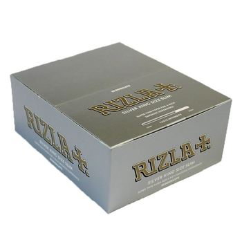 Rizla Tobbaco Silver King Size Slim Cigarette Rolling Papers for sale