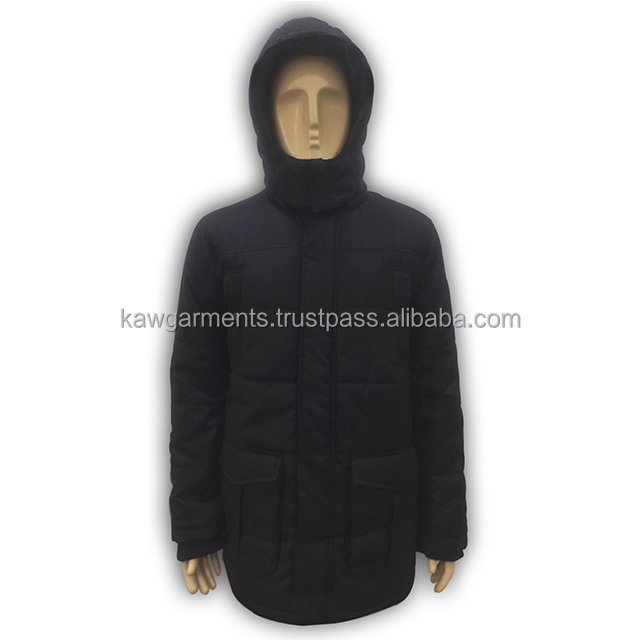 Mans Padded With Hood Jacket -SKY170008