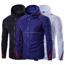 high quality polyester men wind proof water proof rain jacket wind breaker jacket