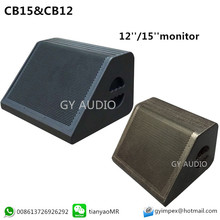 CB12 CB15 monitor speaker.12'' and 15 inch two way passive pro audio PA speaker