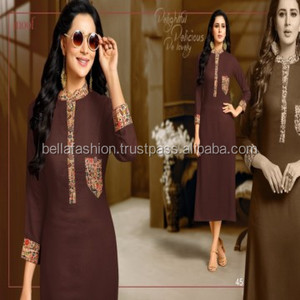 Latest Fabulous Bollywood Western Fashion Designer Special looking Girls Wear Kurtis