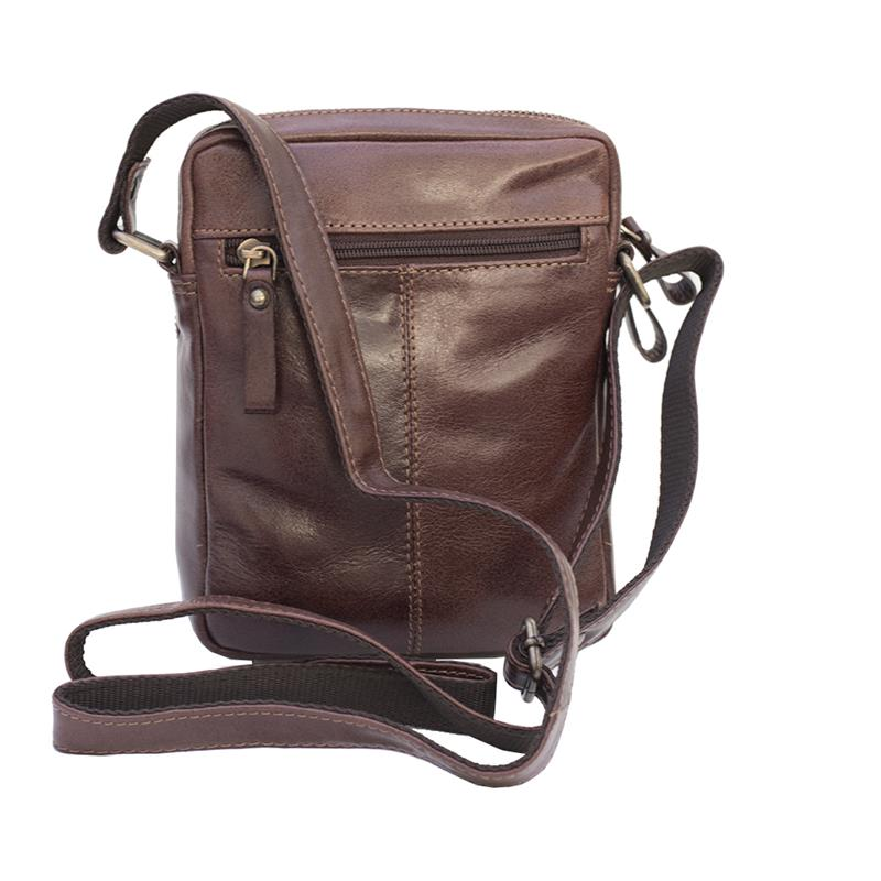 Leather Small Crossbody In Faux Leather Sling Bag