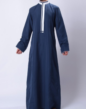 Saudi Thobe thawb For Men Islamic Designer Jubbah Ethnic Wear