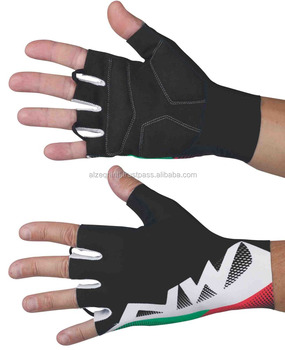 2018 Fashion Design Men Fitness Short Finger Cycling Racing Gloves