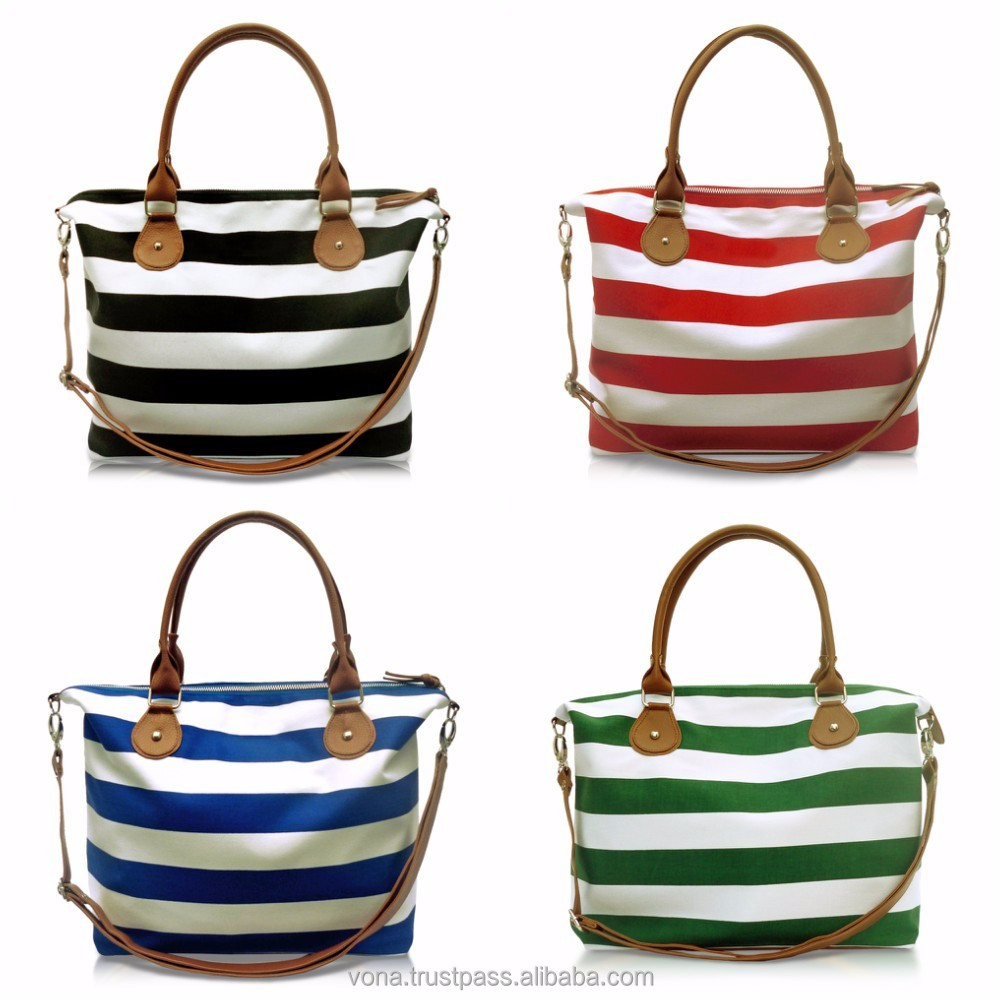 OEM Bags Women Handbags Canvas Handbag Tote Bag (CAR)