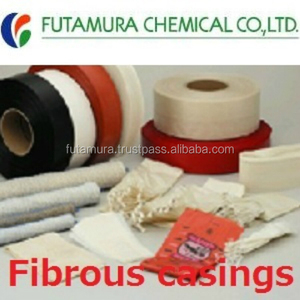 Durable and Eco Friendly plastic sausage casing Fibrous casings with multiple functions made in Japan