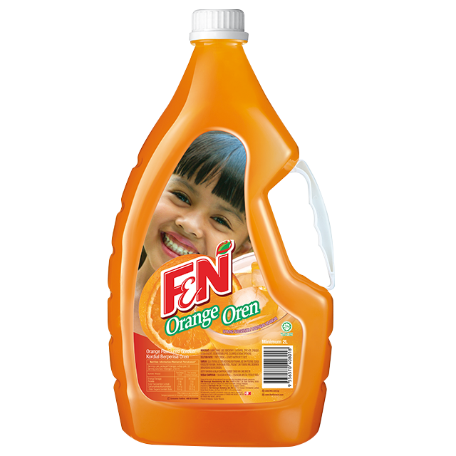 F&N Orange Flavor Thick Concentrate Syrup Drink