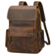 Grain Crazy Horse Genuine Leather laptop backpack