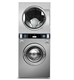 Laundry equipment,15KG coin-operated gas heating commercial stack washer and dryer