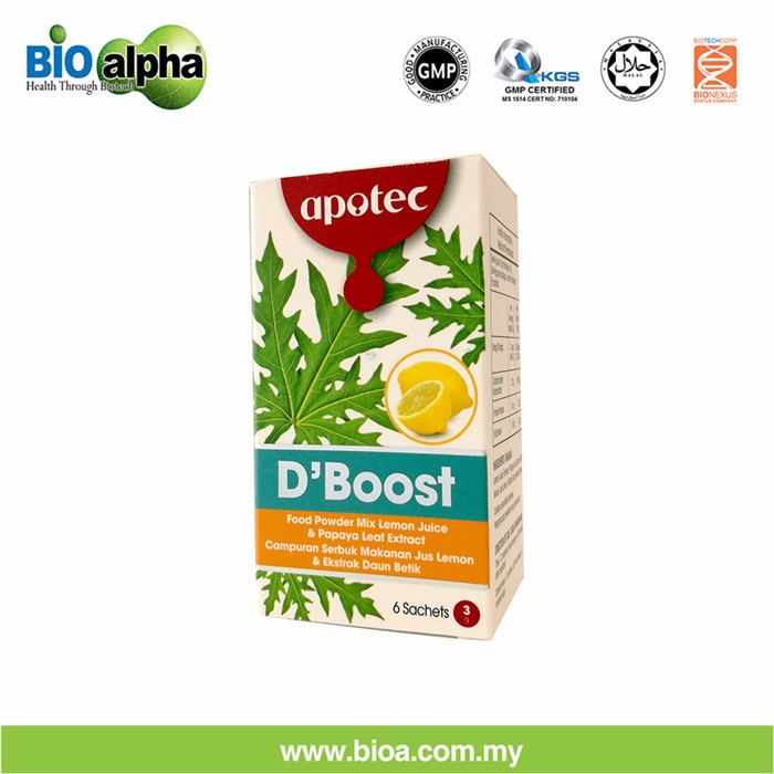 hot sale D' Boost papaya powder with lemon and Stevia extract