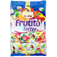 FRUTITO - Center Filled Fruit Toffee Chew (Bag) 200/300/700/1000 GRAMS
