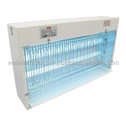 Commercial High Voltage Insect Killer Lamp with 80 W UVA Lamp Factory Stable