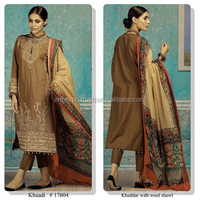 Ladies winter suits salwar kameez / unstitched winter salwar kameez / shalwar kameez ladies