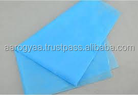 Premium Disposable Water Proof Blue Color Bedsheet