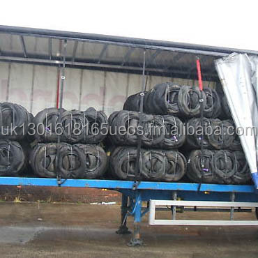SCRAP TYRE BAILS FOR RECYCLING