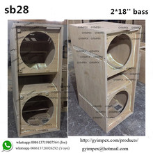 outdoor rock speaker sub for KARA line arrays pa speakers dual 18inch pa subwoofer KS28 SB28 sound box