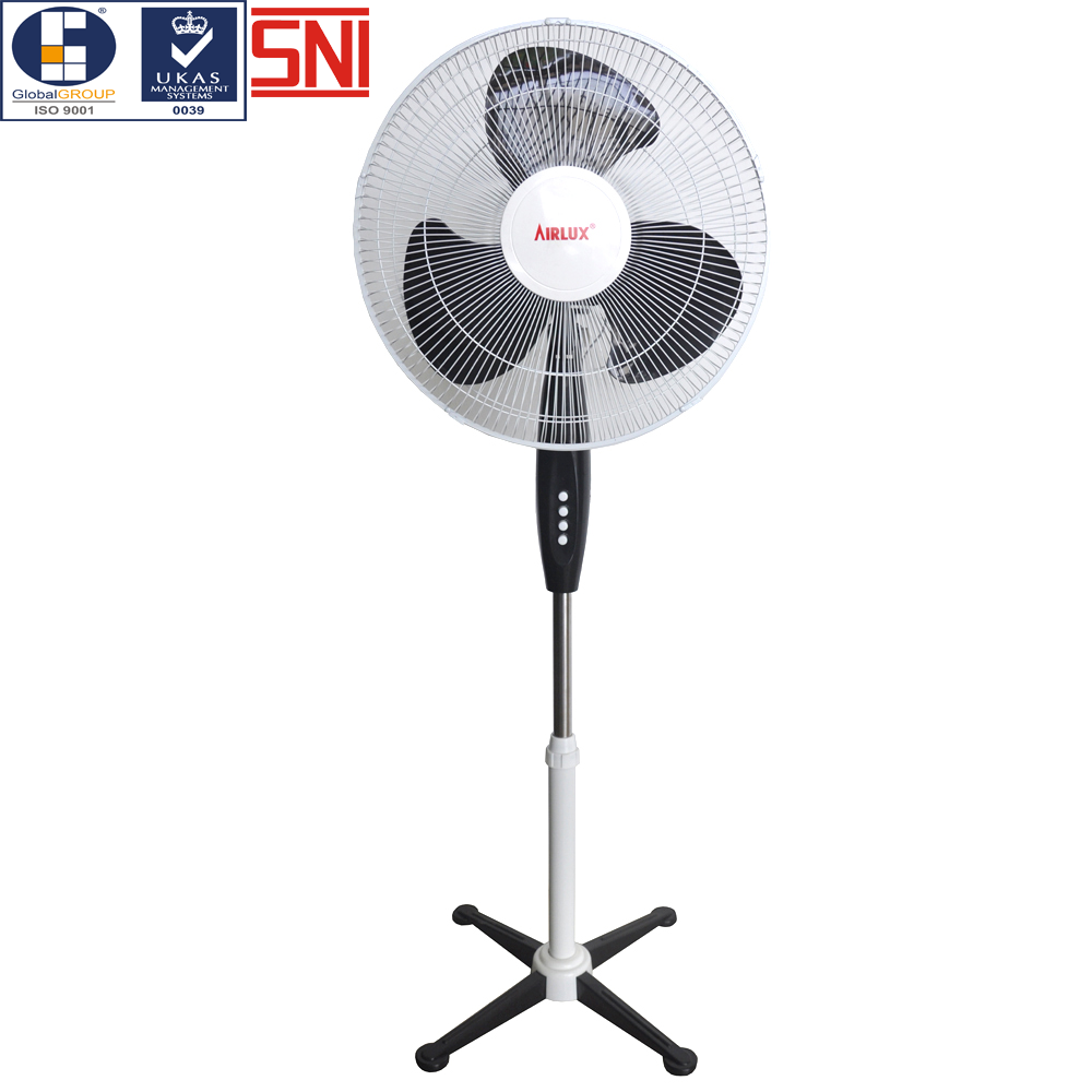 An energy efficient fan with smooth spin