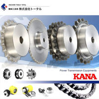 Easy to use and Reliable chain sprocket for industrial use made in Japan