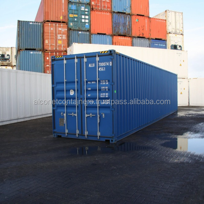 40ft Shipping Container High Cube Dry Van HC Seacontainer A-quality