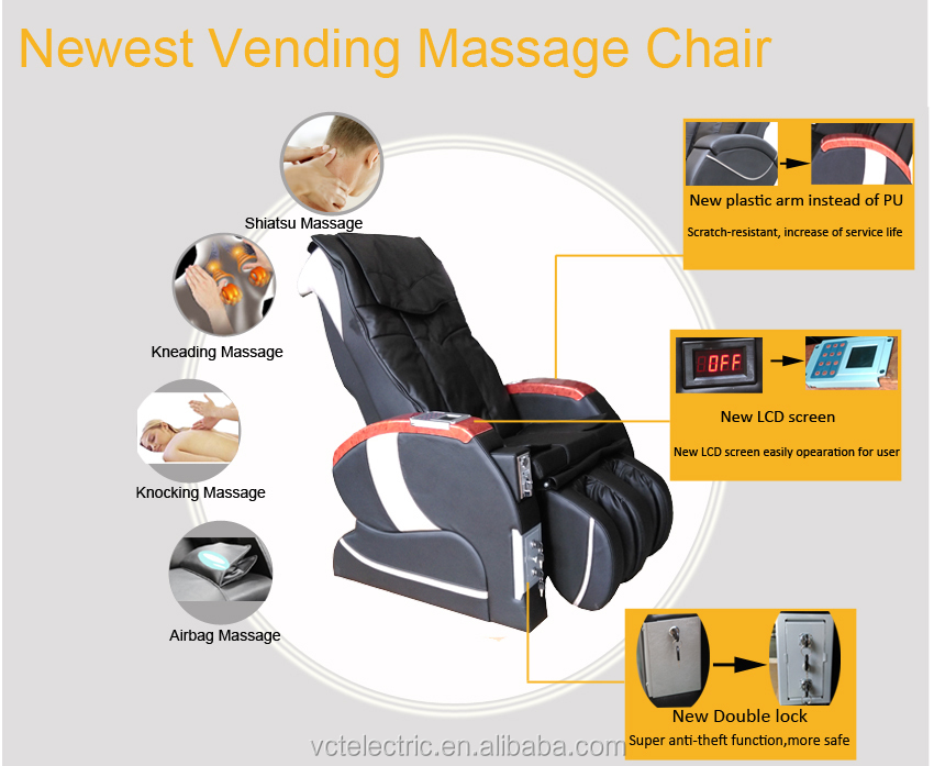 Wholesale vending massage chair bill operated with great price