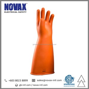 Class 0 Dielectric Gloves Insulating Latex Gloves Malaysia Manufacturer