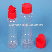 Plastic PET Spice jars