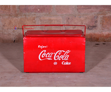 Industrial Vintage Pepsi Coke Soda Storage Box