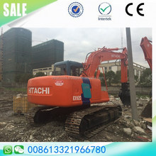 Used Japan Hitachi ex120-3 hydraulic excavator sale in Shanghai