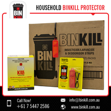Bin Kill Fly Protector Dichlorvos 10.5g Binkill Flies Maggots Bug Pest Killer