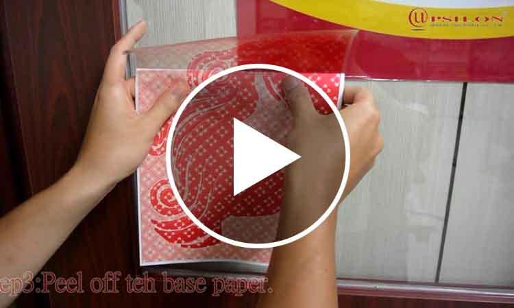 Printing Inkjet Paper Window Decal Decorative