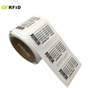 Printed nfc stickers,flexible rfid tag for nfc applications (GYRFID)
