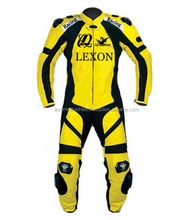 Best Quality Natural Cowhide Leather Motorcycle Suit/ leather motorcycle suit