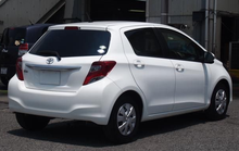 USED 2014 Toyota Vitz yaris RHD from Japan